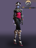 Overwatch Widowmaker (Noire) for XPS Update 2017 by KSE25