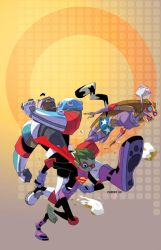 Teen Titans Go Cover no.29 by cheeks-74