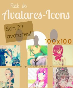 Pack de Avatares - Icons by LaniNila