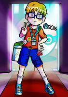 Exploring the Gaming Convention by CosmicNerdBoy