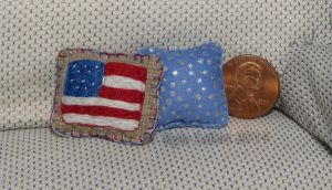 USA Patriotic Pillow Set by Kyle-Lefort