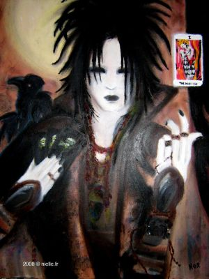 Morphee playing Tarot by never-over-strange