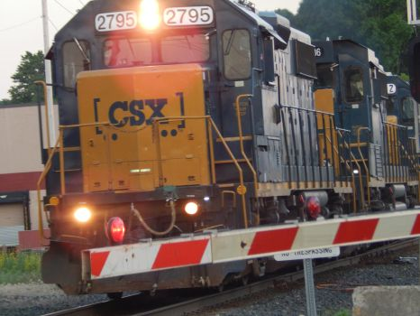 CSX GP38-2 #2795 by Tracksidegorilla1
