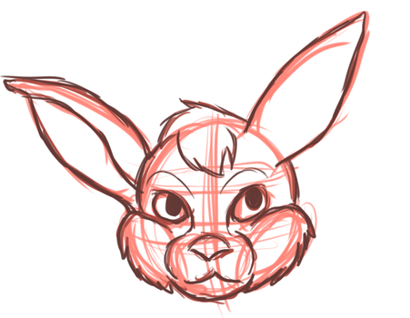 Bunny head exercise by ChapperIce