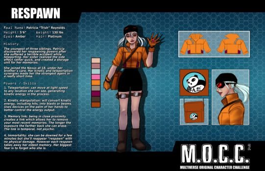 Respawn Character Sheet by Zairyo