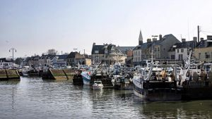 Harbor of Port-en-Bessin by UdoChristmann