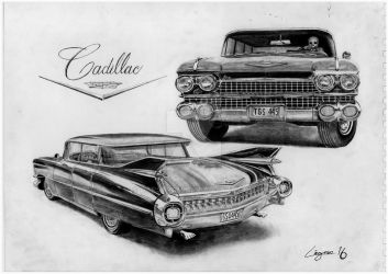 '59 Cadillac -scan- by Darstrom