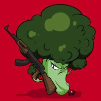 Broccoli Icon- Commission by kidbrainer