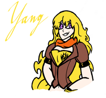 Yang Xiao Long by LordoftheVillains