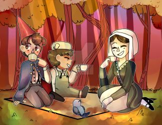 Picnic by kittenlover101