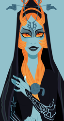 Midna by kyoukorpse