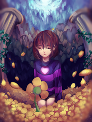 UNDERTALE by EmarieChi