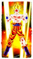 goku made in chile by moncho-m89