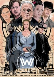 Westworld by mrinal-rai