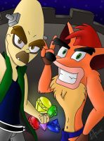 Crash Bandicoot 2 - Crash and N.Brio by NitrusBrio68