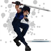 Zack Fair of FF7:CRISIS CORE by Sig17gm