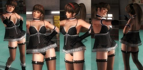Hitomi black lace by funnybunny666