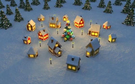 Christmas Town by HolgerL