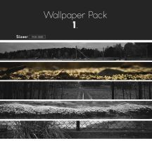 Wallpaper pack 1 by Anselmeth
