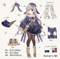[CLOSED] Milky Way Stargazer by Adopt-A-Fish