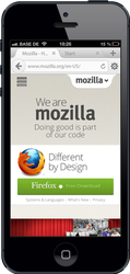 Firefox Australis for iOS Mockup by Shourijo