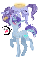 | + I luv u! {MLP/Base/NGWWS} + | by TheChoccoBear