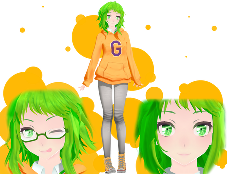 Tda GUMI Edit by sailor-rice