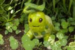 Felt Chikorita Plush by Maresy