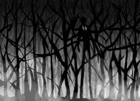 The Slender Man by SuperTako