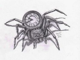 King Spider Clock by RCR123