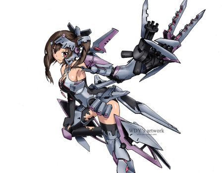 OC mecha musume (normal) by wdy1000