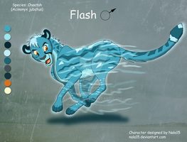 Flash the Cheetah - Flash Friday Auction CLOSED by Nala15