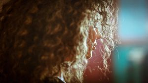 Curly Close-up by ShakilovNeel