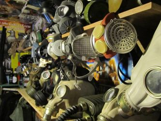 Gas Mask Collection by Johnyzlampy