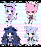 Chibi Adoptable Auction [CLOSED] by Trasochist