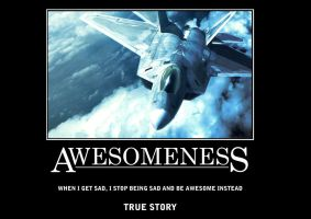Awesomeness - Jet Plane Poster by SouthernDesigner
