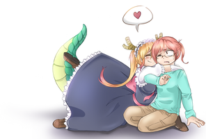 Life is Better With Dragons by Min-Jeungi