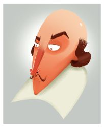 Shakespeare by Oliver-Fisk