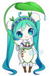 FREE Snow Miku 2015 Pagedoll by rimuu