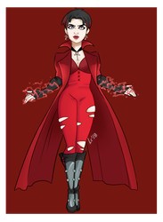 Scarlet witch x-men Evolution by KiimPandora