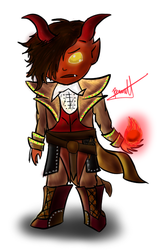 Tibalt, the Fiend Blooded by applejackles