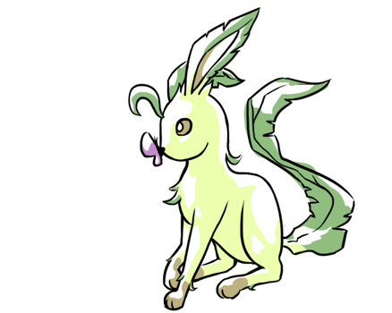 Leafeon by PhoenixWave34