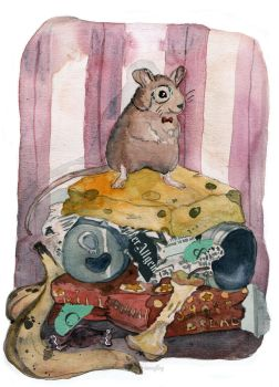 Millionaire Mouse by sunnyfiny