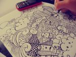 1st Doodle Art by ceesevenmarzartworks