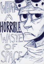 Dr. Horrible Puns Aren't Funny by muffinpoodle