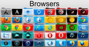 Browsers Colorflow by SamirPA