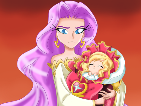 LR: You Must Protect Princess Iris! by Smileverse