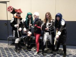 D.Gray-man Setsucon 2013 by origami10