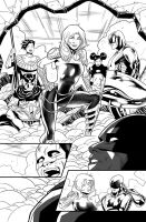 Teen Titans issue 12 page 11 by Azulmelocoton