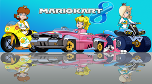 Mario Kart 8 Princesses by FamousMari5